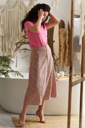 Юбка Лузана розовая 3638