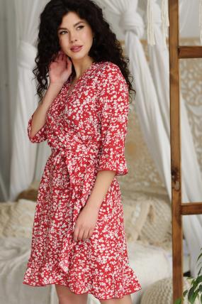 Сукня Фіфа червона 3655