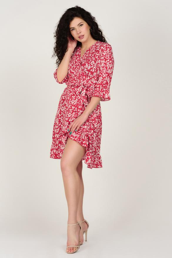 Платье Фифа красное
