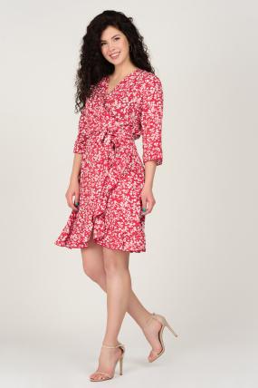 Платье Фифа красное 3658