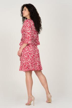 Платье Фифа красное 3659