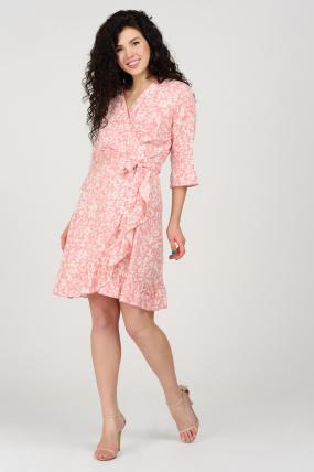 Платье Фифа розовое