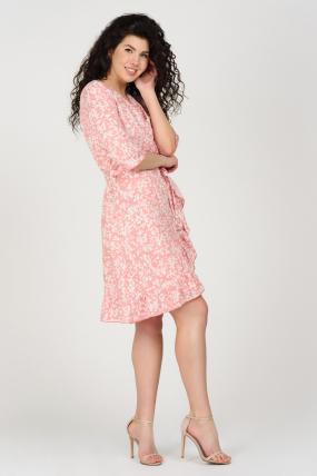 Платье Фифа розовое 3661