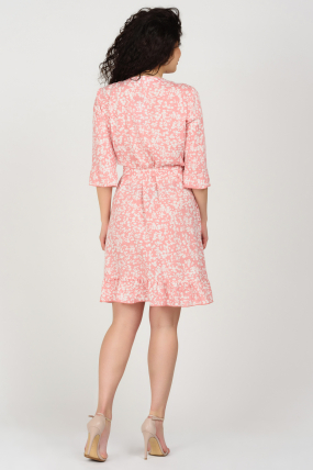 Платье Фифа розовое 3662