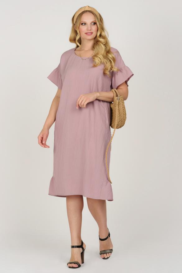 Платье Матера пурпурное