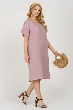 Платье Матера пурпурное 3673