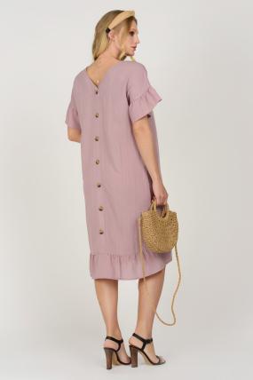 Платье Матера пурпурное 3674