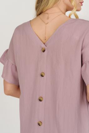 Платье Матера пурпурное 3675