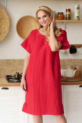 Платье Матера красное