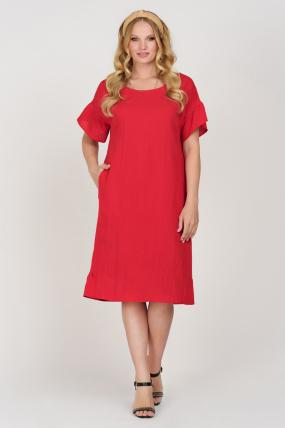 Платье Матера красное 3677