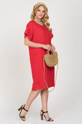 Платье Матера красное 3678