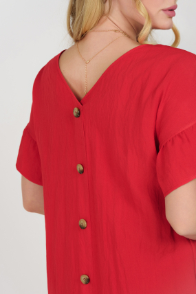 Платье Матера красное 3679