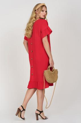 Платье Матера красное 3680