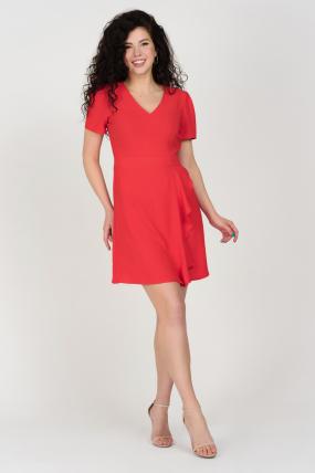 Платье Карамель красное