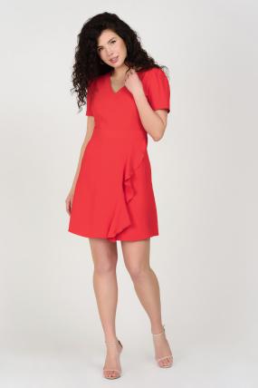 Сукня Каремель червона 3682