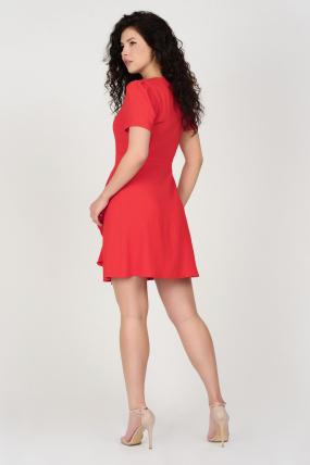 Сукня Каремель червона 3683