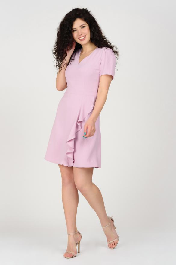 Платье Карамель сиреневое