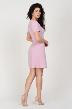 Платье Карамель сиреневое 3686
