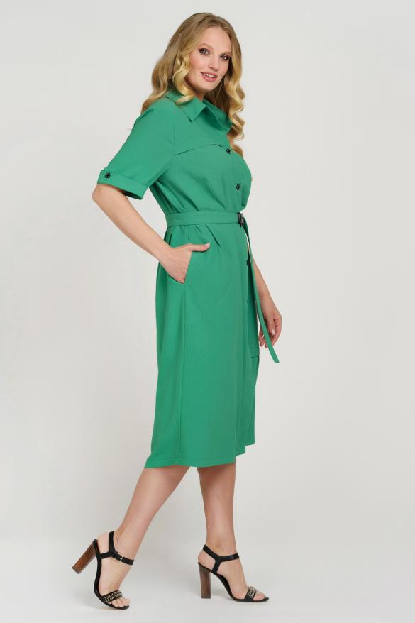 Платье Бизе зеленое