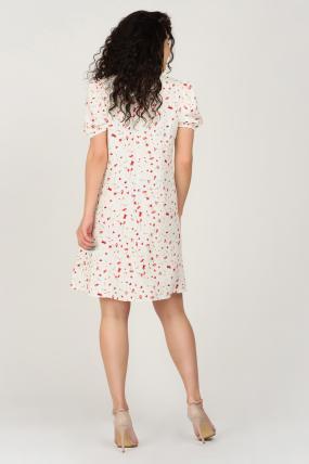 Платье Кокос белое 3743