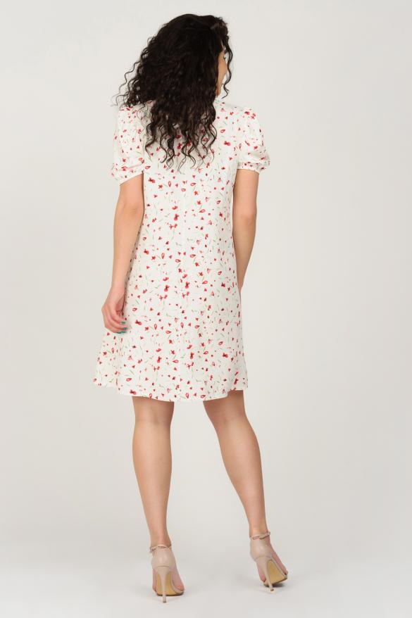 Платье Кокос белое