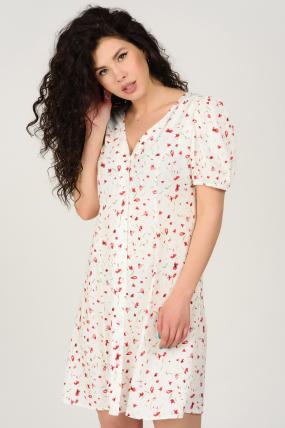 Платье Кокос белое 3745