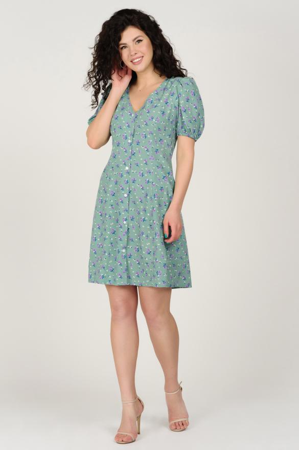Платье Кокос оливковое
