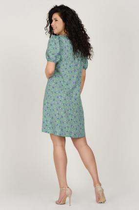 Платье Кокос оливковое 3753
