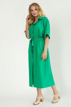 Сарафан Кимо зеленый 3760