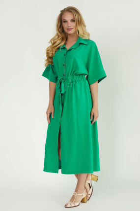 Сарафан Кимо зеленый 3761
