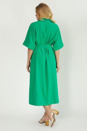 Сарафан Кимо зеленый 3762