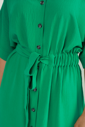 Сарафан Кимо зеленый 3763