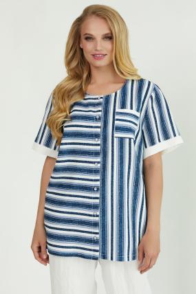 Рубашка Канат белая 3772