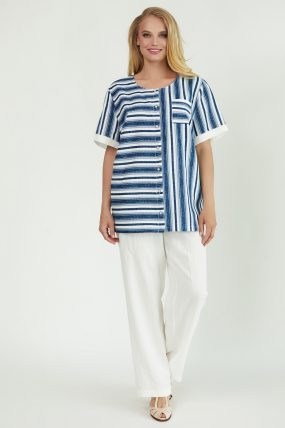 Рубашка Канат белая 3773