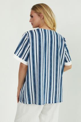Рубашка Канат белая 3775