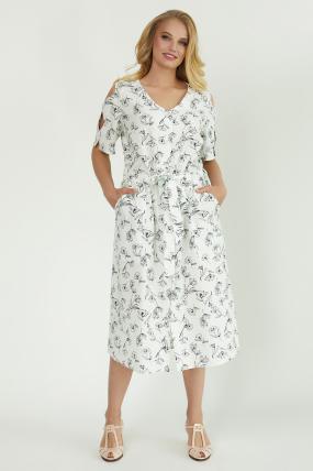 Сукня Теона біла 3789