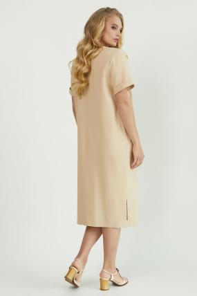 Платье Мэрс бежевое 3821