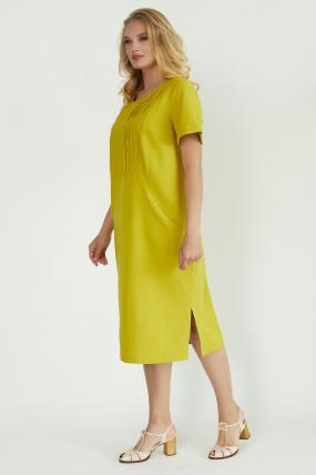Платье Мэрс горчичное 3824