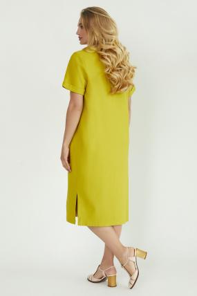 Платье Мэрс горчичное 3825