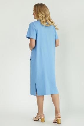 Сукня Мерс блакитна 3828