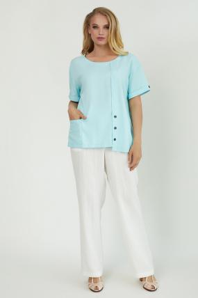 Блуза Верба голубая 3845