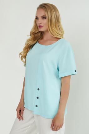 Блуза Верба голубая 3847
