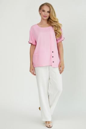 Блуза Верба розовая 3849