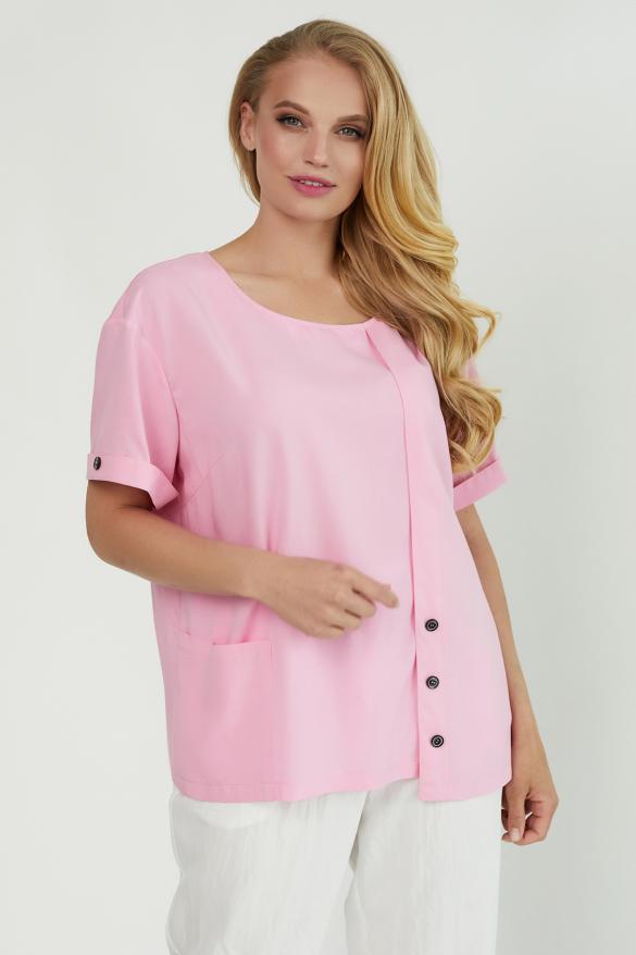 Блуза Верба розовая