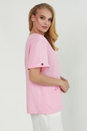 Блуза Верба розовая 3851