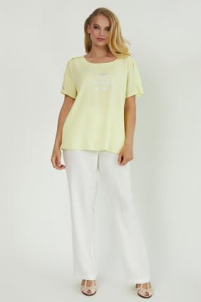 Блуза Бьюти желтая 3853