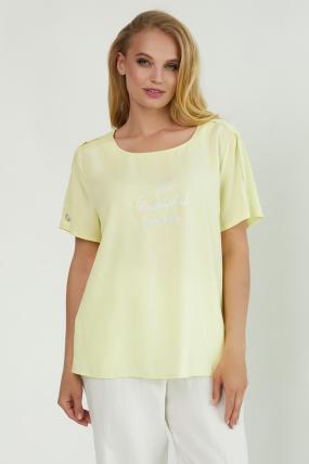 Блуза Бьюти желтая 3854