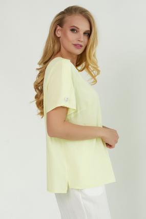 Блуза Бьюти желтая 3855
