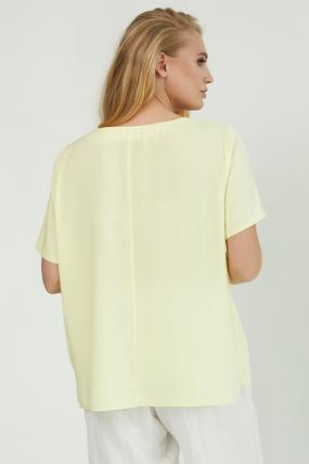 Блуза Бьюти желтая 3856