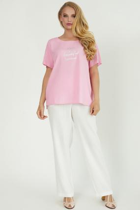Блуза Бьютi рожева 3857